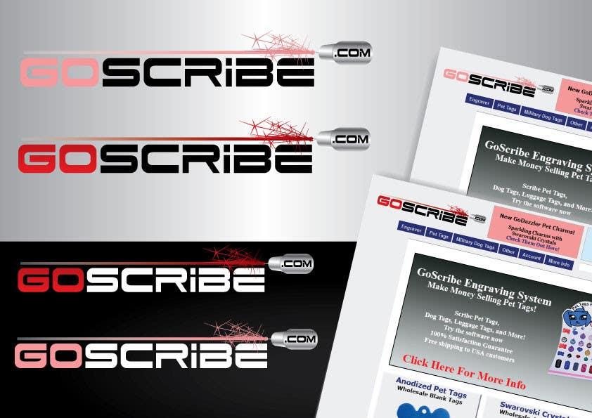 Inscrição nº 75 do Concurso para GoScribe Logo