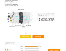#8 untuk Create Me a Landing Sales Page and Funnel for Respirator Mask oleh darpon28030