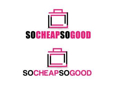 #89 cho Logo Design for socheapsogood.com bởi rraja14