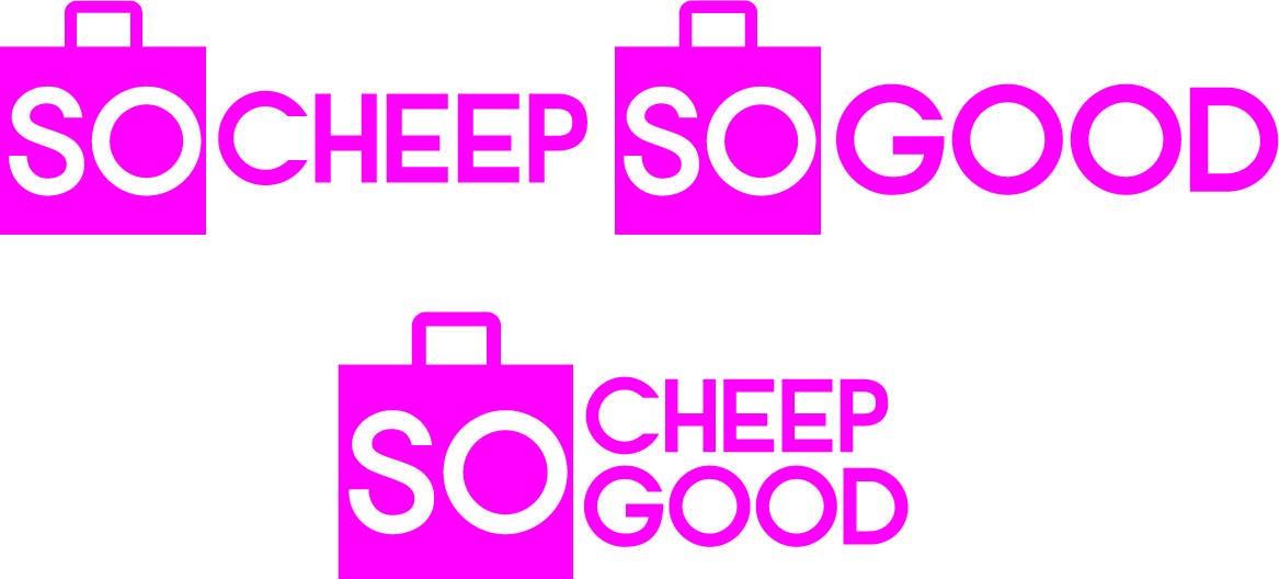 Bài tham dự cuộc thi #                                        83                                      cho                                         Logo Design for socheapsogood.com