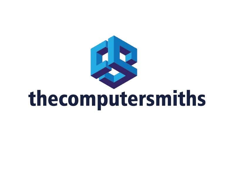Penyertaan Peraduan #                                        38                                      untuk                                         I'm looking for a logo to be designed for a wordpress website called The Computer Smiths's .com