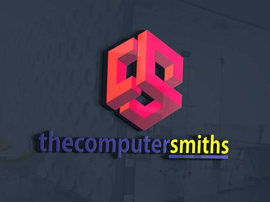 Penyertaan Peraduan #                                        74                                      untuk                                         I'm looking for a logo to be designed for a wordpress website called The Computer Smiths's .com
