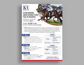 #25 para Racehorse shares for sale 1 page brochure por kmemamun7