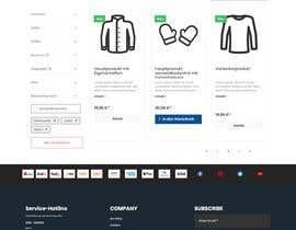 #30 for Build a CSS shop design by mdalinoor129