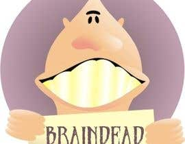 #23 para Logo Design for brain dead por manikmoon