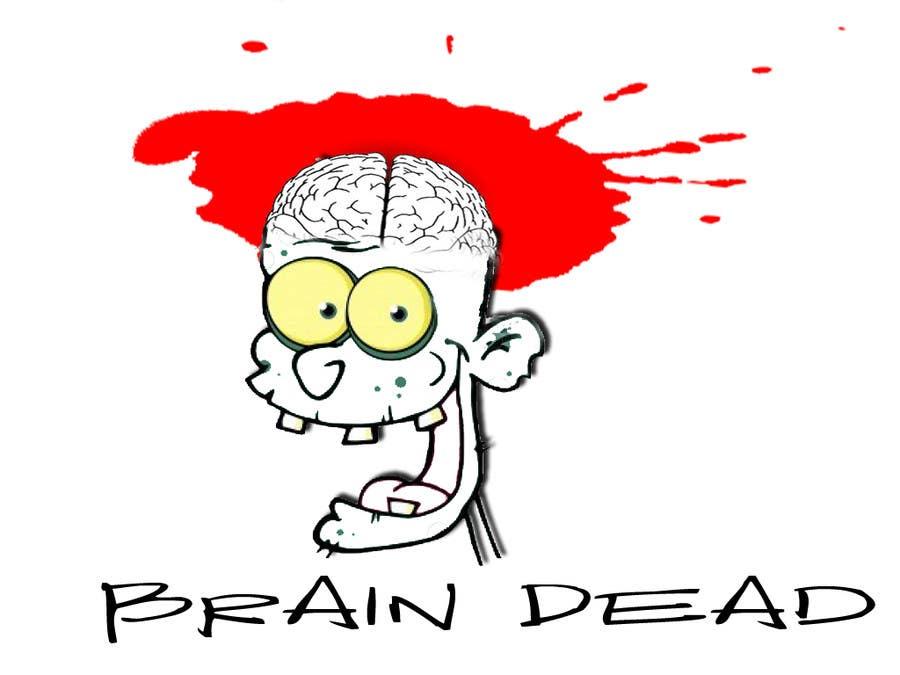 Penyertaan Peraduan #8 untuk Logo Design for brain dead
