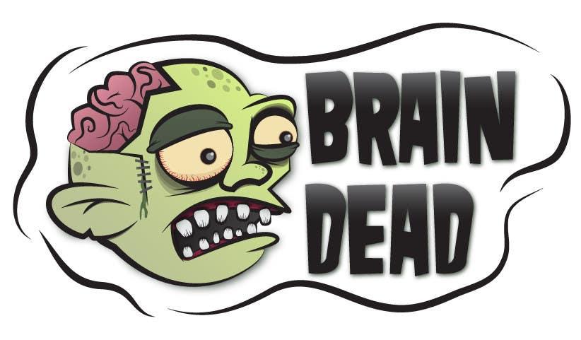 Penyertaan Peraduan #17 untuk Logo Design for brain dead
