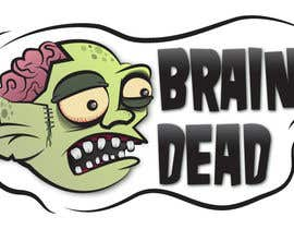 #17 para Logo Design for brain dead por Mrichings