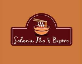Nro 23 kilpailuun Design a Logo for Solana Pho & Bistro käyttäjältä maromi8