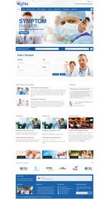 #3 for Design a Website Mockup for an Online Medical Resource by TECHRONYX