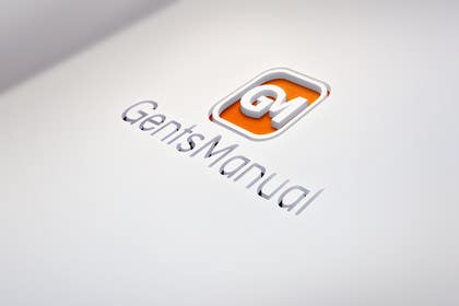 #74 för Design a Logo for GentsManual.com av smnoyon55