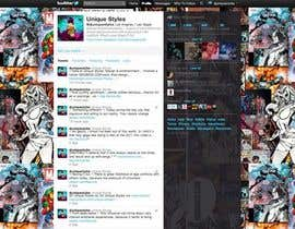 #9 for Twitter Background for Noobics Blog av UniqueStyles