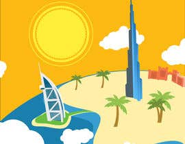 #5 for Design a Banner for Dubai gold application by johnbeetle