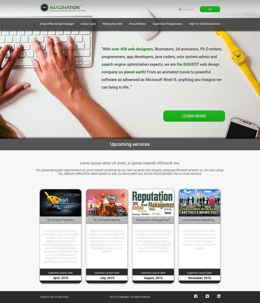 Homepage Designer entry 22 by icatoiu for best homepage designer easy 3rd