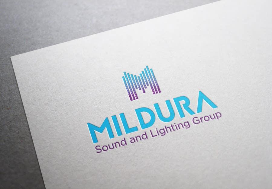 Contest Entry #26 for Design a Logo for Mildura Sound and Lighting Group