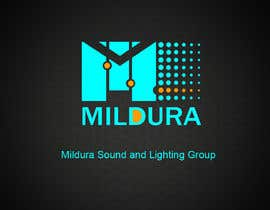 #31 για Design a Logo for Mildura Sound and Lighting Group από ideafuturot