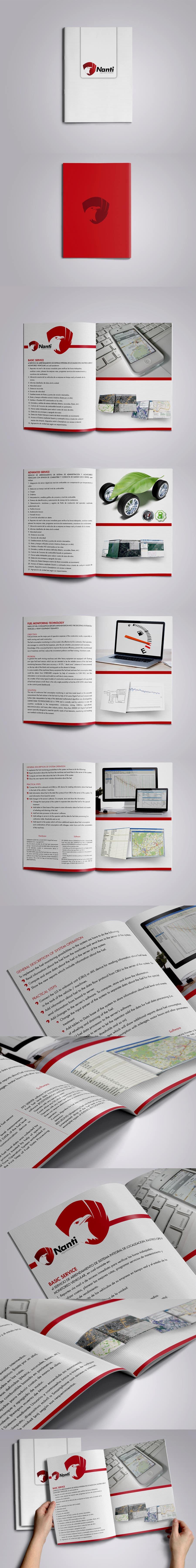 Inscrição nº 59 do Concurso para Brochure Design for Telematic Fleet Management System Company