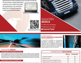 #32 for Brochure Design for Telematic Fleet Management System Company af ManuelSabatino