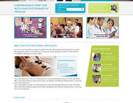 #7 för Design a Website Mockup for a Clinic av webidea12