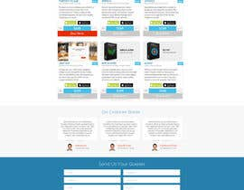 #12 para Design a Website Mockup for appkodes.com de nomib