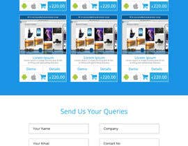 #20 para Design a Website Mockup for appkodes.com de Ankur0312