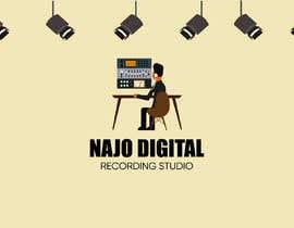 Nro 39 kilpailuun I need a logo designed for Digital recording studio käyttäjältä tohuragraphics