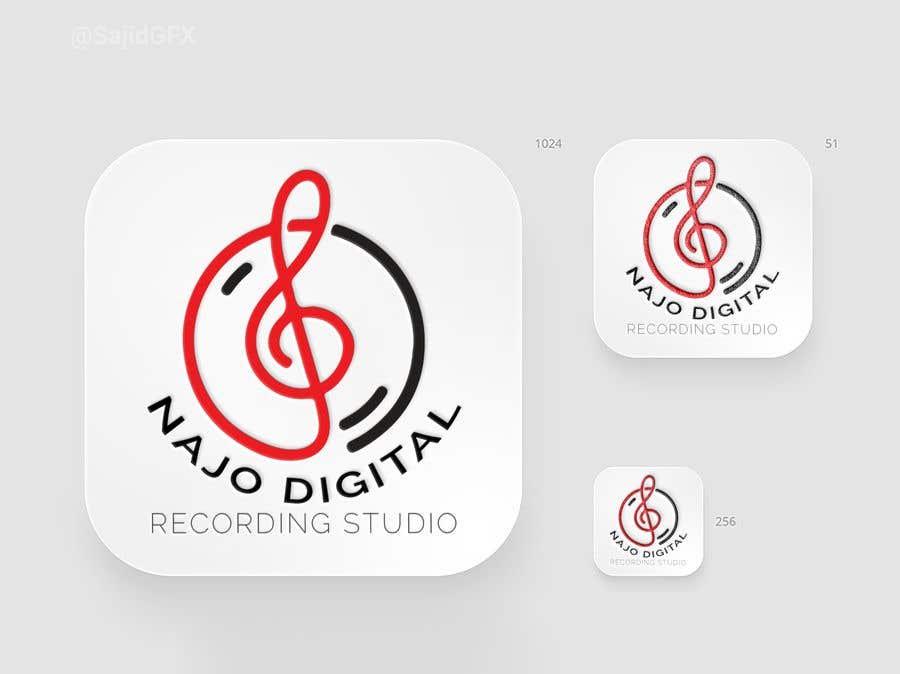 Kilpailutyö #                                        13                                      kilpailussa                                         I need a logo designed for Digital recording studio