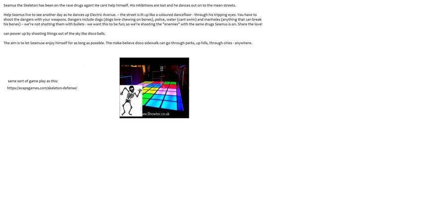 Kilpailutyö #                                        19                                      kilpailussa                                         Suggest concepts for an undead-themed mobile game