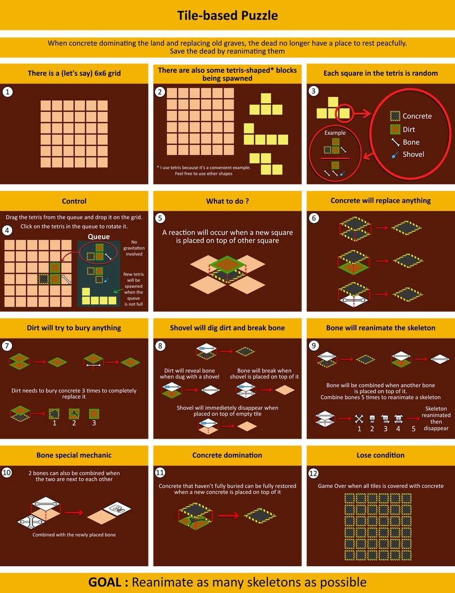 Kilpailutyö #                                        15                                      kilpailussa                                         Suggest concepts for an undead-themed mobile game