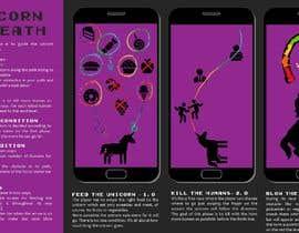 Nro 17 kilpailuun Concept for a unicorn-themed mobile game käyttäjältä SilviaManelfi