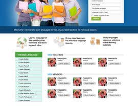 #8 untuk http://www.fluentfuture.com/ - language exchange home page design oleh danangm