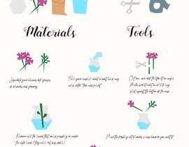 #31 для Flower Shop DIY at Home Instruction Sheet Drawing от EIIIIII