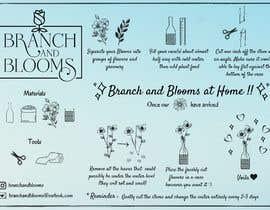 #23 для Flower Shop DIY at Home Instruction Sheet Drawing от jesila1525