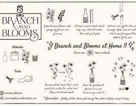 #29 для Flower Shop DIY at Home Instruction Sheet Drawing от jesila1525
