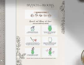 #19 для Flower Shop DIY at Home Instruction Sheet Drawing от elyssee