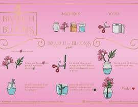 #28 для Flower Shop DIY at Home Instruction Sheet Drawing от geneblazaart