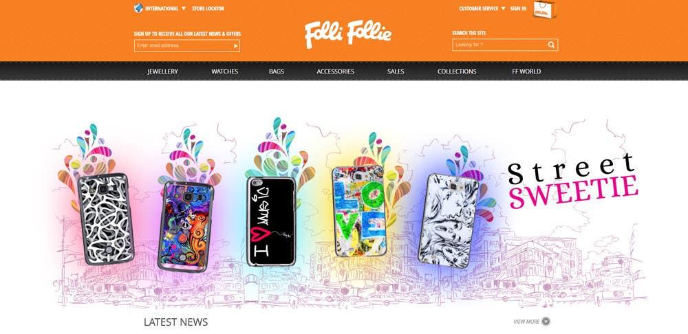 Inscrição nº 2 do Concurso para Banner Ad Design for homepage of mobile phone fashion site