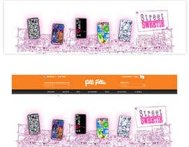#15 para Banner Ad Design for homepage of mobile phone fashion site por rep2012