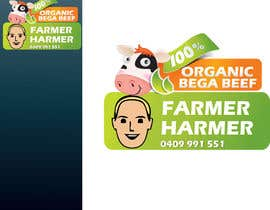 #15 cho Logo Design for Farmer Harmer Grass Fed Beef bởi rjanu