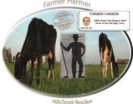 nº 8 pour Logo Design for Farmer Harmer Grass Fed Beef par hjdeshmukh02