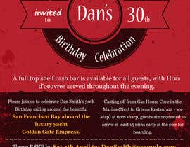 #61 for Design a 30th Birthday Invite by fastidea