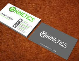#338 pentru Design some Business Cards for K2 Kinetics de către aminur33