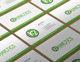 #329 for Design some Business Cards for K2 Kinetics by HammyHS