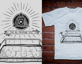 #23 untuk Design for T-Shirts (All seeing eye + Tiny Skateboarder) oleh francisvdelfin