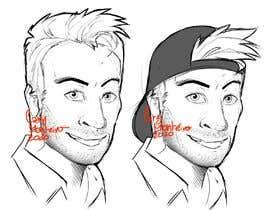 #2 for Cartoon portrait for my YouTube icon af carymonteiro