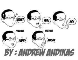 #5 para -character artists stickers por andrewandikas
