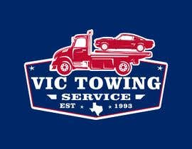 #106 for Vic Towing Logo by philly27