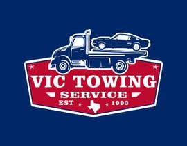 #107 for Vic Towing Logo by philly27