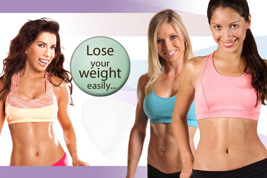 Kilpailutyö #                                        24                                      kilpailussa                                         Advertisement Design for weight loss