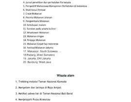Nro 1 kilpailuun Daftar 100 Judul Artikel Traveling Yang Unik käyttäjältä MBilalZafarTarar
